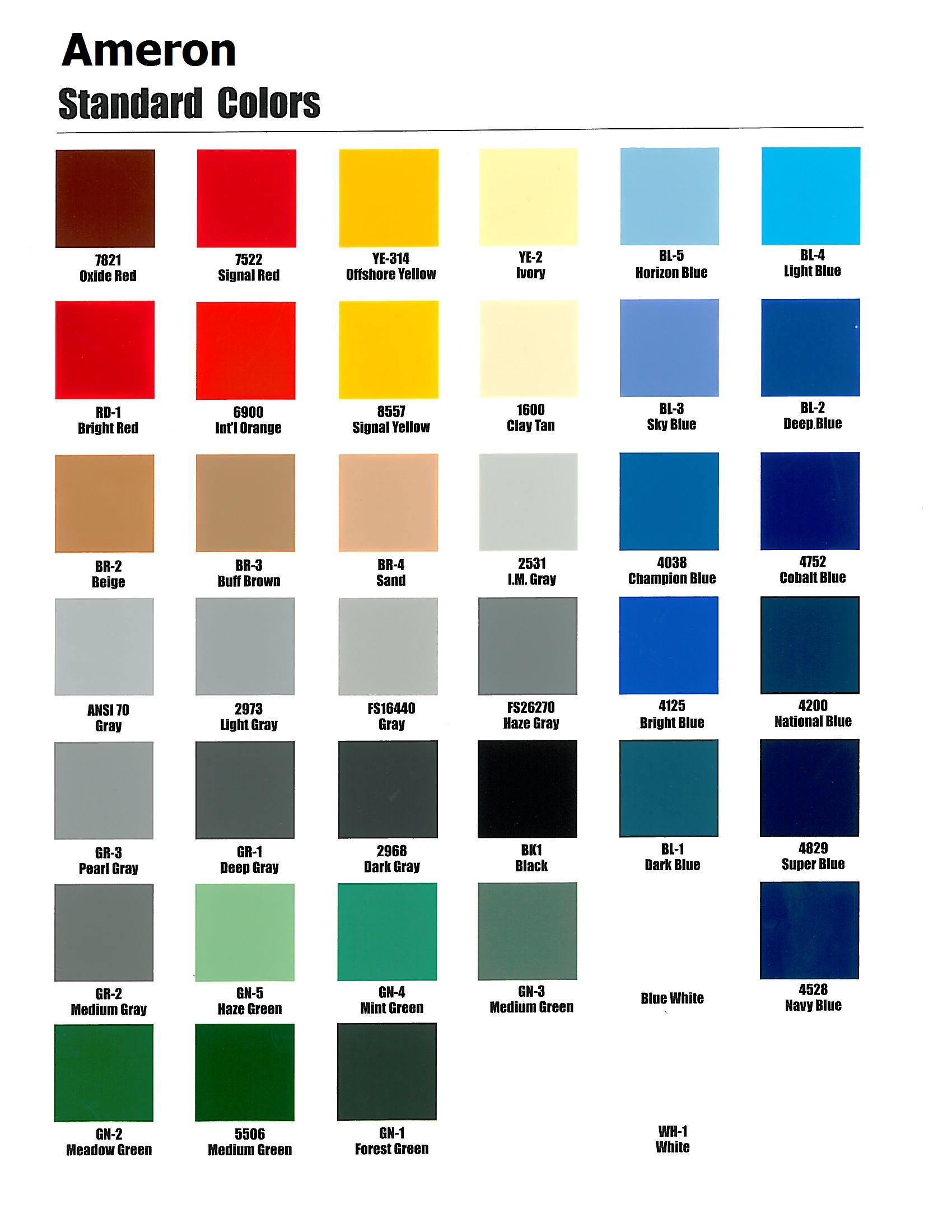 Ppg Color Chart Conversion